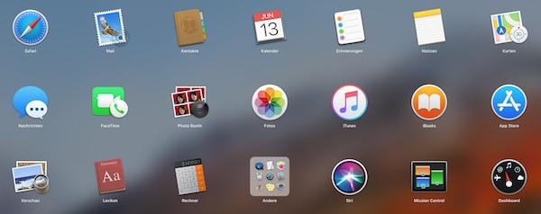 Programme Mac