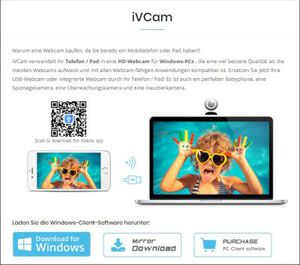 iVCam für Windows